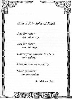 Cinco Princípios: a base da prática do Reiki | Foto: John